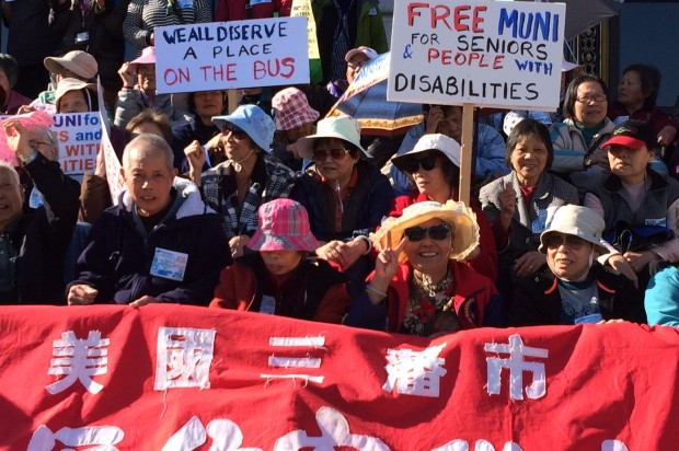 Free Muni to be Offered to Disabled, Low- to Moderate-Income Seniors