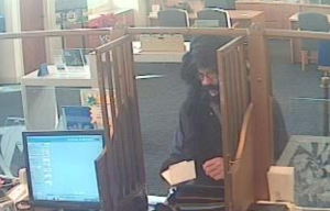 Costumed Man Wanted by FBI in Connection to String of Bank Robberies