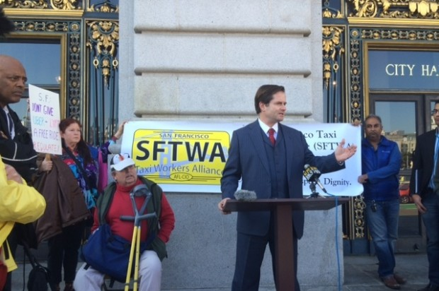 Taxi Workers Alliance Urge Supes to Hold Uber, Lyft, Others to Same High Standards