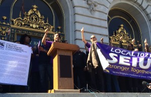 City Workers at De Young, Legion of Honor Protest Use of Fingerprinting Technology