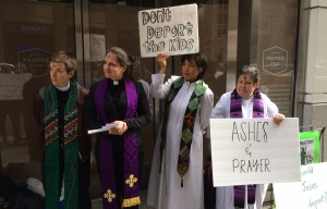 Faith Leaders Hold Rally to Protest Federal Injunction Halting Immigration Execution Actions