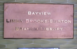 Public Library to Unveil New Name of Bayview Branch