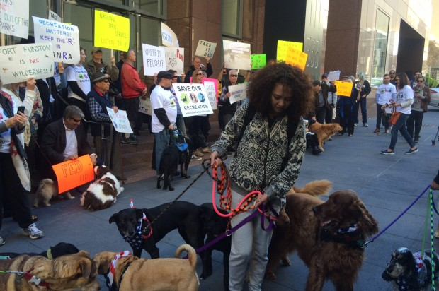 Dog Owners Protest Golden Gate National Recreational Area Management Plan