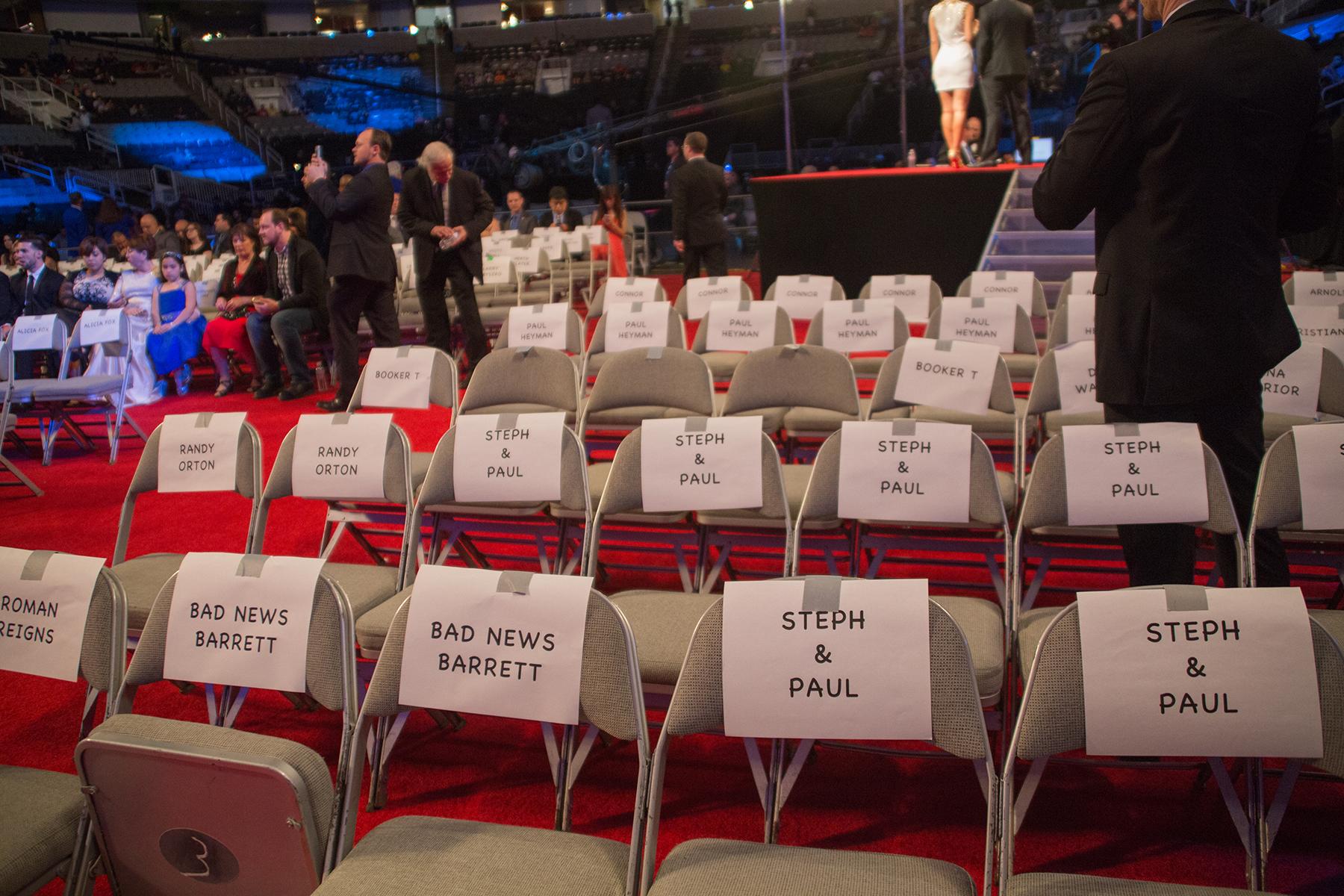 hof seats