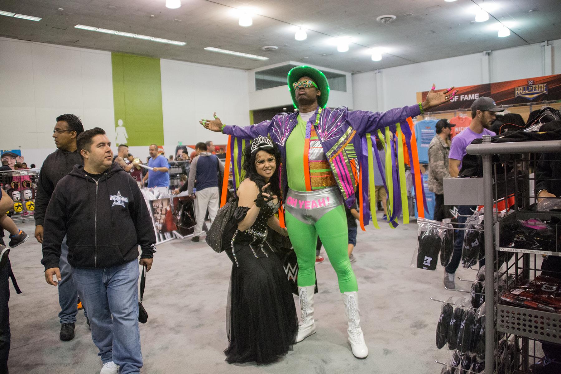 macho man and elizabeth cosplay