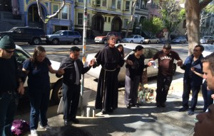 Vigil Held in Remembrance of Guatemalan Man Fatally Shot by Police in Mission District