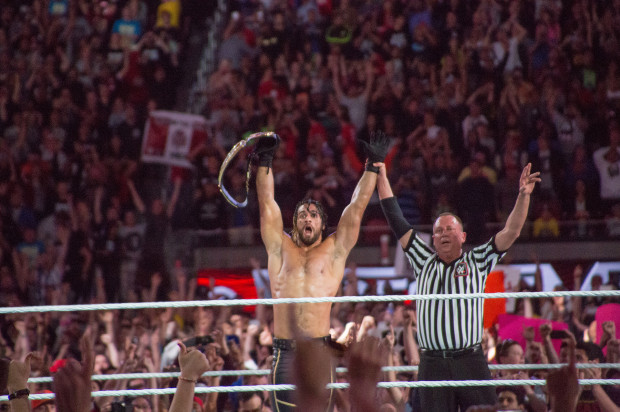 WWE Heavyweight Champion Seth Rollins Predicted Golden State Warriors Victory in Cleveland on Monday