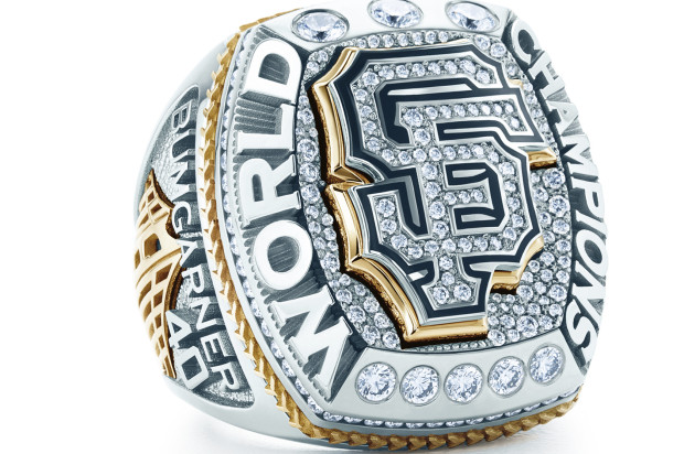 Extra Bling in Giants World Series Ring