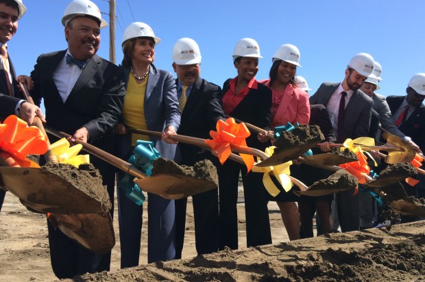 Democratic Leader Pelosi, Mayor Lee Break Ground on New Alice Griffith House