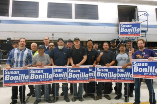 State Senate Candidate Accuses BART Union of Illegal Campaign Against Him
