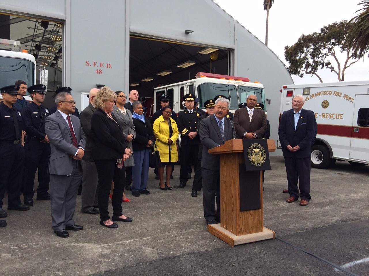 Mayor Lee Proposes $47.3M Funding for SFFD, Emergency Services