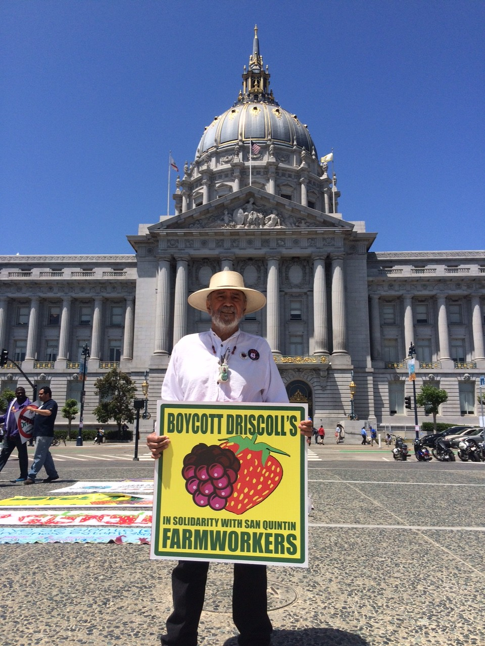 Labor Rights Activists Gather in Support of International Boycott of Driscoll's Strawberries