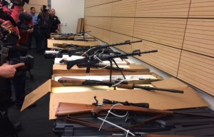 Arrest of SF Robbery Suspects Leads Police to Cache of Assault Rifles in South San Francisco
