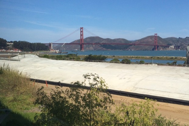 Presidio Parkway Open to Motorists, New Parklands Planned Above Tunnels