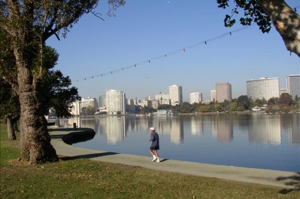 City Officials Celebrate Completion of Lake Merritt Shoreline Project