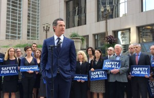Lt. Gov. Newsom Announces 2016 Ballot Initiative to Curb Gun Violence, Strengthen Gun Laws